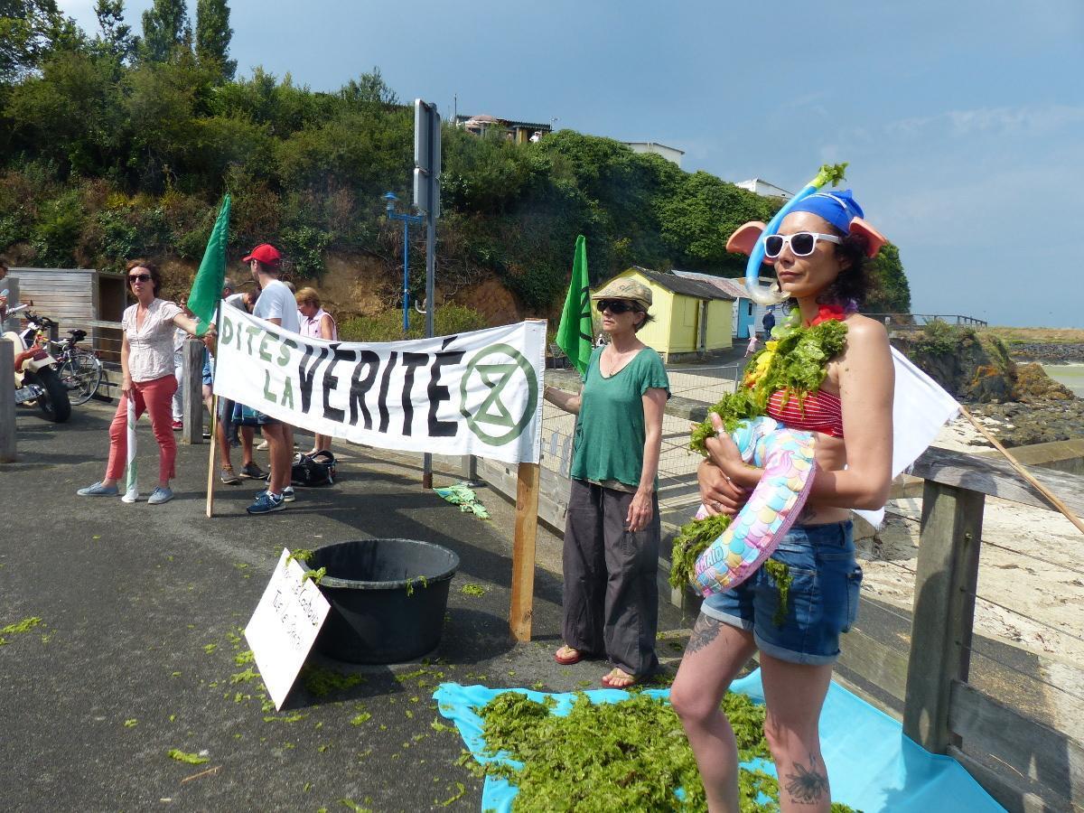 Rassemblement « Arrêtez vos salades » contre les marées vertes, le 25 juillet à Saint-Brieuc